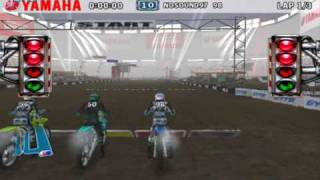 Yamaha Supercross (Wii) on Dolphin Wii/GC Emulator