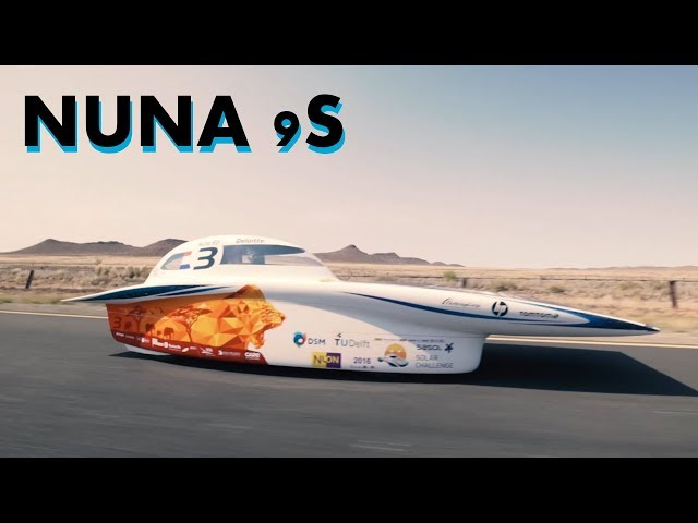 Solar car racing with the Nuna 9S | TU Delft TV