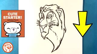 How to Draw Scar  Drawing  Lion King - Easy Pictures to Draw