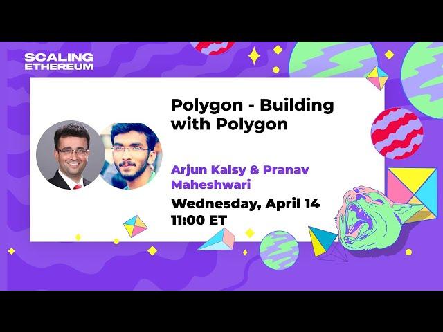 Polygon 🛠 Building with Polygon