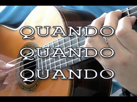 Quando, Quando, Quando - Engelbert Humperdinck (solo guitar cover)