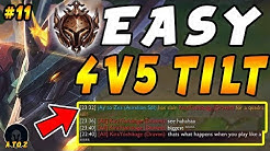 "How to TILT Your Enemies in Low Elo as 4v5! Conqueror Aurelion Sol CARRY! | ""jAy to Zea"" Ep #11"