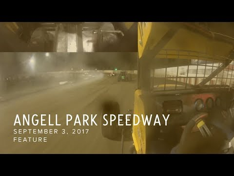 Sept. 3, 2017: Angell Park Speedway (with throttle and brake)