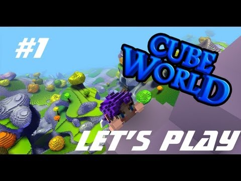 Cube World - Let's Play - Crasy CoOp!! Episode 1!![FR]
