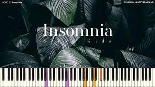 Download lagu Stray Kids (스트레이 키즈) - Insomnia (불면증) [PIANO COVER]