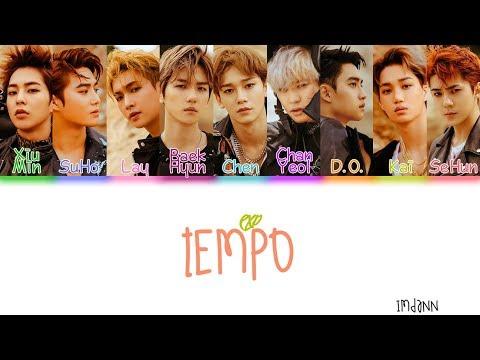 EXO - Tempo  Sub. Español + Color Coded  (HAN/ROM/ESP)