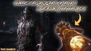 """THE FINAL REICH"" - TESLA GUN UPGRADE GUIDE! *THE REAPER* STEP BY STEP WALKTHROUGH"