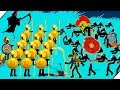 ЗОЛОТАЯ АРМИЯ против ЗОМБИ Stick War Legacy Zombie Mode 4 mp3