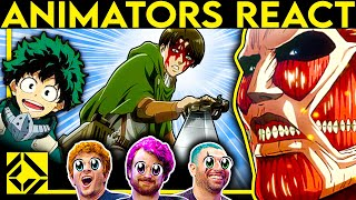 Animators React to Bad & Great ANIME