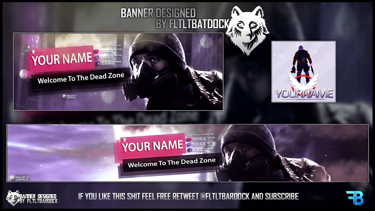 Free The Division Free Banner Twitter Header