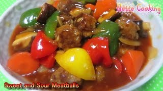"""sweet & Sour Meatballs"""