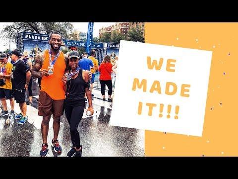 We ran a 10k! | Britt's Space | A Vlog