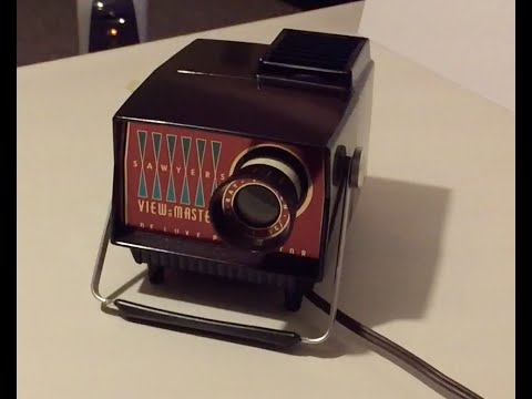 Sawyers View Master Deluxe Projector