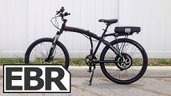 ProdecoTech Phantom X2 Video Review - Full Sized Folding Electric Bike