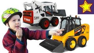 Строительная техника. Погрузчики. Машины для детей Kids video(Привет, ребята! В этой серии Игорюша катается на велике и опять встречает спецтехнику за работой. Сегодня..., 2016-05-14T07:13:06.000Z)