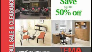 TEMA Furniture Fall Sale and Clearance 2011
