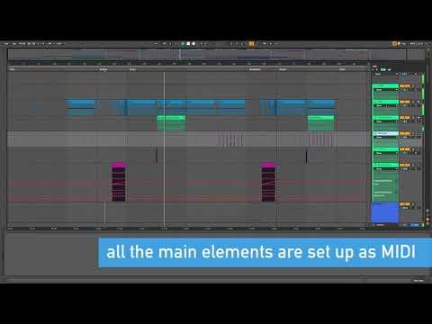 Noise Bass Ableton Template