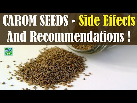 CAROM SEEDS Side Effects And Recommendations!