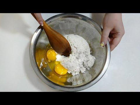 Жареный РИС с ЯЙЦОМ - Очень Простой Рецепт | Egg Fried Rice | 황금 볶음밥