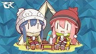 gr anime review yuru camp laid back camp duration 8 minutes 20 seconds glass reflection - Glass Reflection