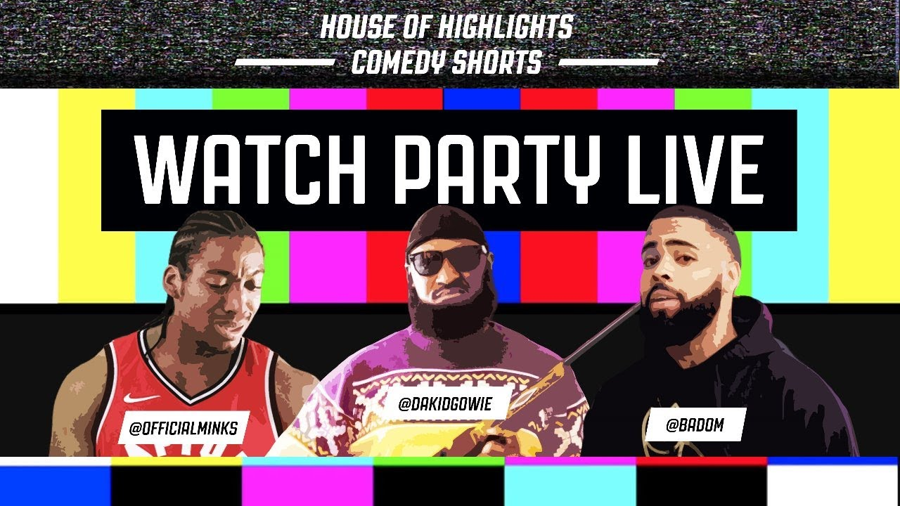 House of Highlights Comedy Shorts Watch Party Live