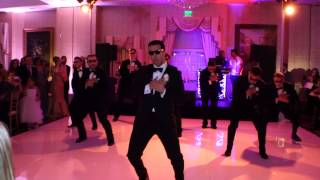 An EPIC SURPRISE (w/ Less Screaming): AN AMAZING Choreographed Wedding Dance