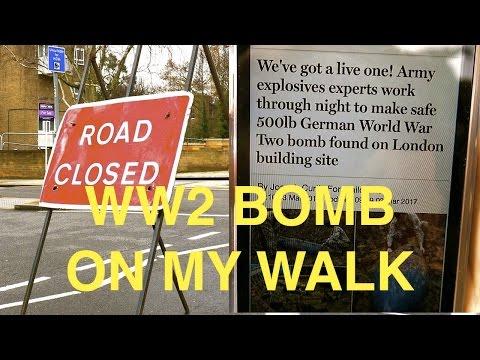 Railway Walk with World War 2 Bomb Gospel Oak to Perivale via Willesden Junction