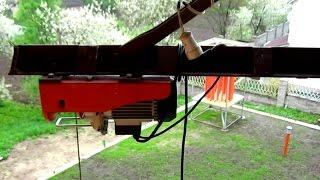 Подъемный кран из электротельфера своими руками(, 2015-05-09T14:10:25.000Z)