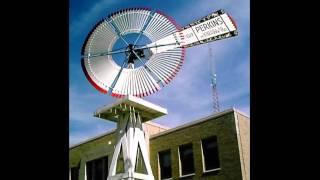 antique windmills of the prairie