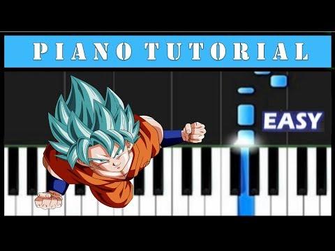 Dragon Ball Super - Easy Piano Tutorial (Synthesia)