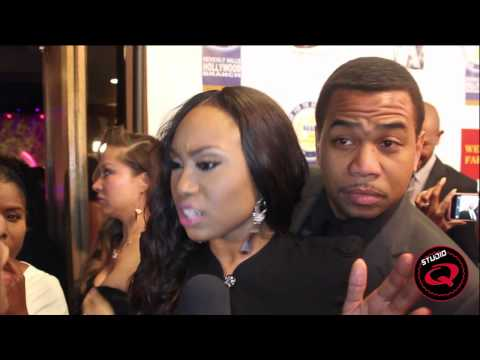 Angell Conwell & Omar Gooding Talk Family Time