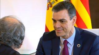 Gobierno y Generalitat comienzan el diálogo en Moncloa