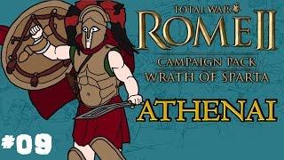 Total War: Rome 2 - Wrath of Sparta - Athenai (Athens) Campaign - Part 9!