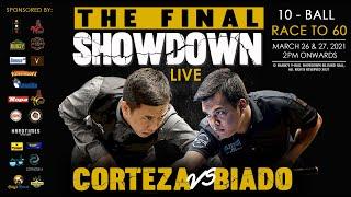Biado vs Corteza   The Final Showdown   Day 1   03/26/2021