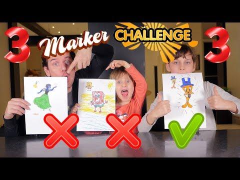 3 MARKER CHALLENGE #3 • C'est VOUS qui votez !! - Studio Bubble Tea