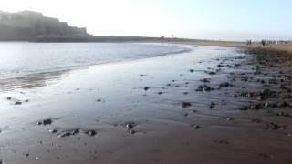 salé plage ; moon sghir mijat vaguelettes