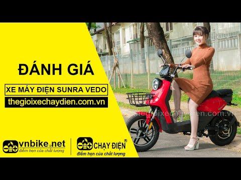 Đánh giá xe máy điện Sunra Vedo