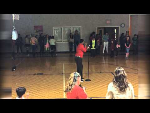 """The Michael Jackson Show"" at the Montessori Academy 1980's Dance Party (2015)"