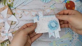 Декор из бумаги своими руками.Очень просто.Украшаем фотоальбом для мальчиков.