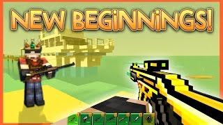 NEW BEGINNINGS! | Pixel Gun World - Ep. 1