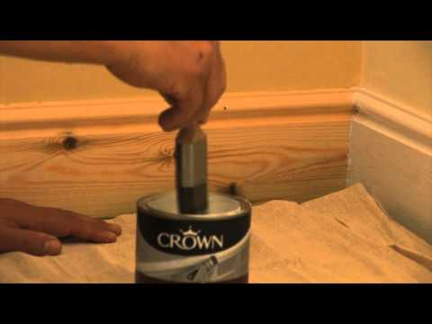 How to Prime and Undercoat Wood Skirting