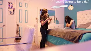 I'M PREGNANT PRANK ON MY SISTER !