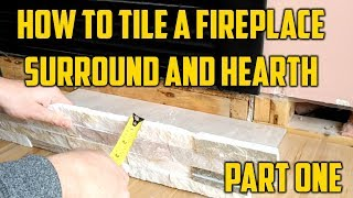 Come Along for this video as I show you how to a fireplace hearth and surround.