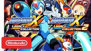Mega Man X Legacy Collection 1 & 2 Pre-Order Trailer - Nintendo Switch