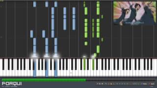 Fairy Tail Opening 11 - Hajimari no Sora (Synthesia)