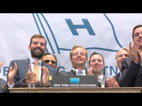 Höegh LNG Partners LP rings the NYSE Opening Bell