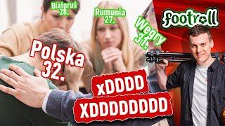 Polska piłka klubowa 32. w rankingu UEFA xDDD