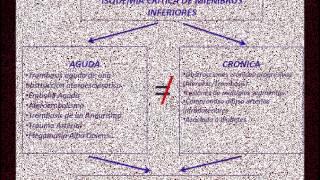 Inferiores isquemia aguda de clasificacion miembros