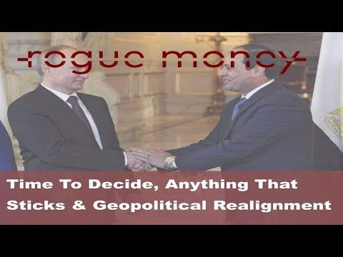 Rogue Mornings - Time To Decide, Anything That Sticks & Geopolitical Realignments (12/12/17)