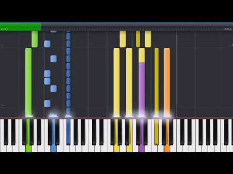 (I Just) Died In Your Arms- Cutting Crew (Synthesia/MIDI Cover)